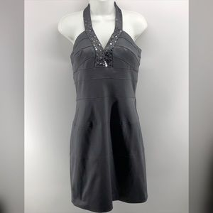 Max and Cleo Gray Evening Dress Size 10